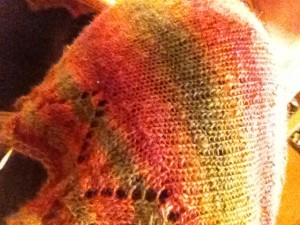 Beithe shawlette