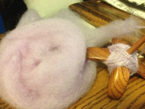 spinning mystery wool